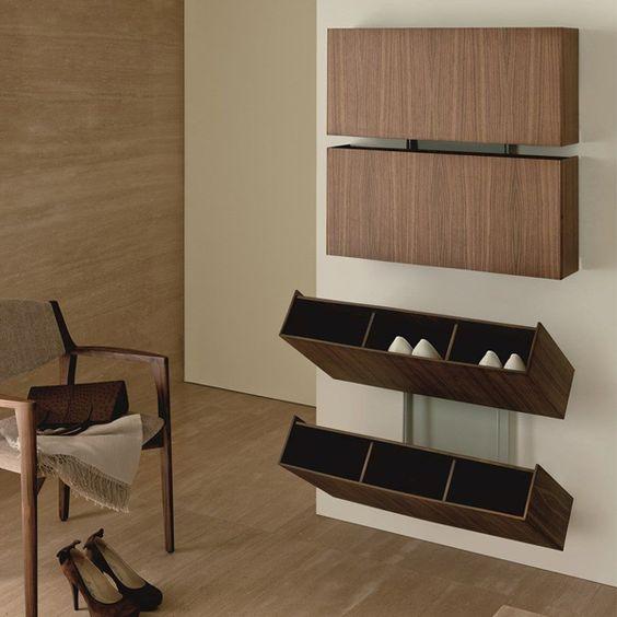 Tủ giày thông minh treo tường