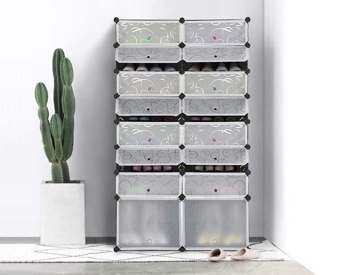 Tủ giày nhựa