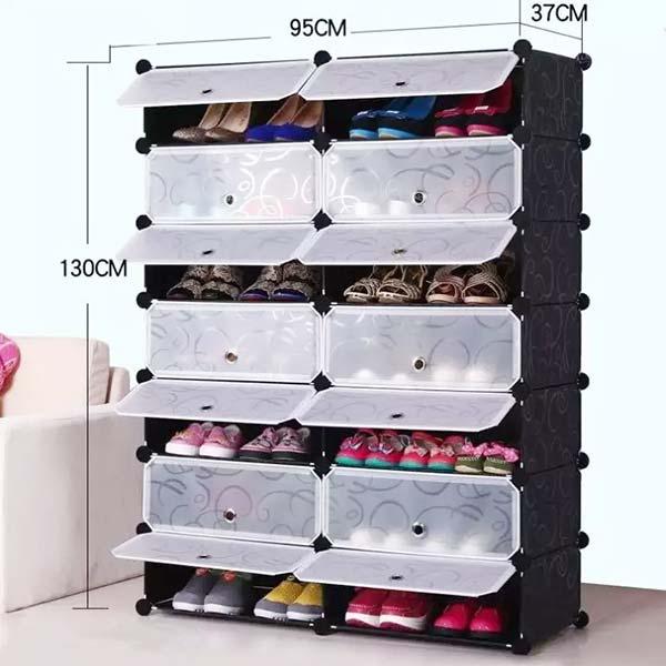 Chọn tủ đựng giày bằng nhựa phù hợp kích thước căn phòng