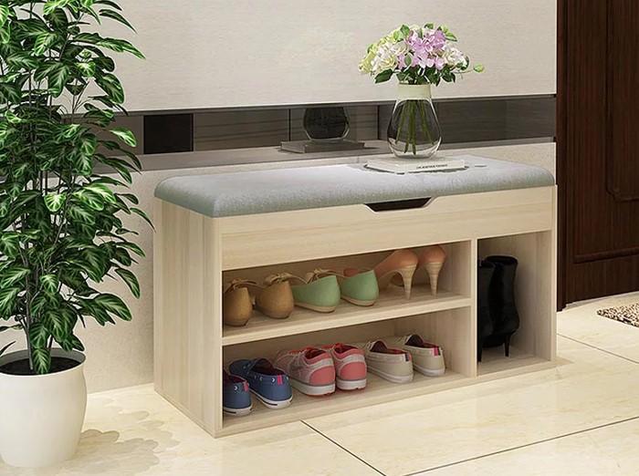 Tủ giày gỗ công nghiệp mini trang nhã