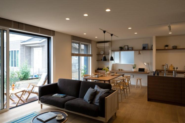 Thi công hoàn thiện phòng khách giống bản thiết kế 99%