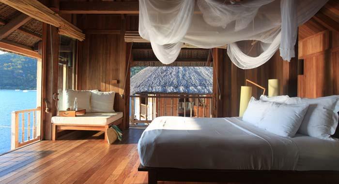 Bungalow có Phòng ngủ hướng vịnh biển đẹp xuất sắc
