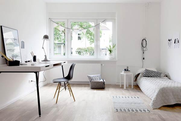 Không gian chung trong phong cách Scandinavian