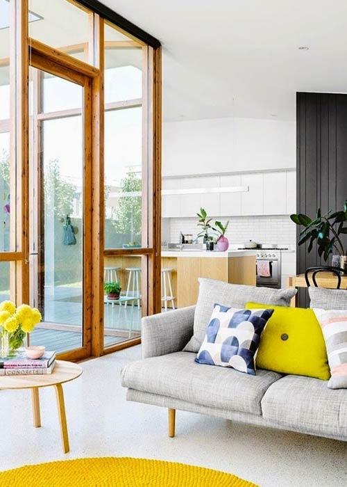 Phòng khách phong cách Scandinavian