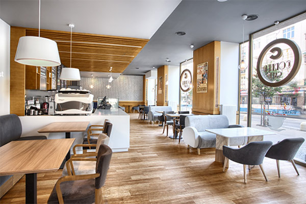 Thiết kế quán cafe theo phong cách scandinavian