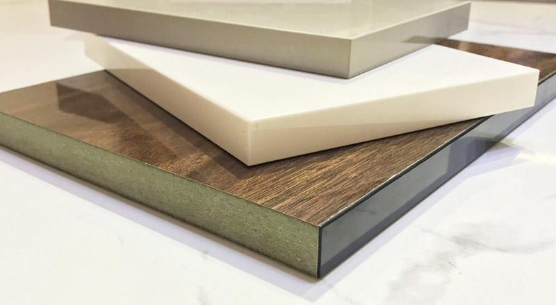 Bề mặt gỗ công nghiệp Acrylic