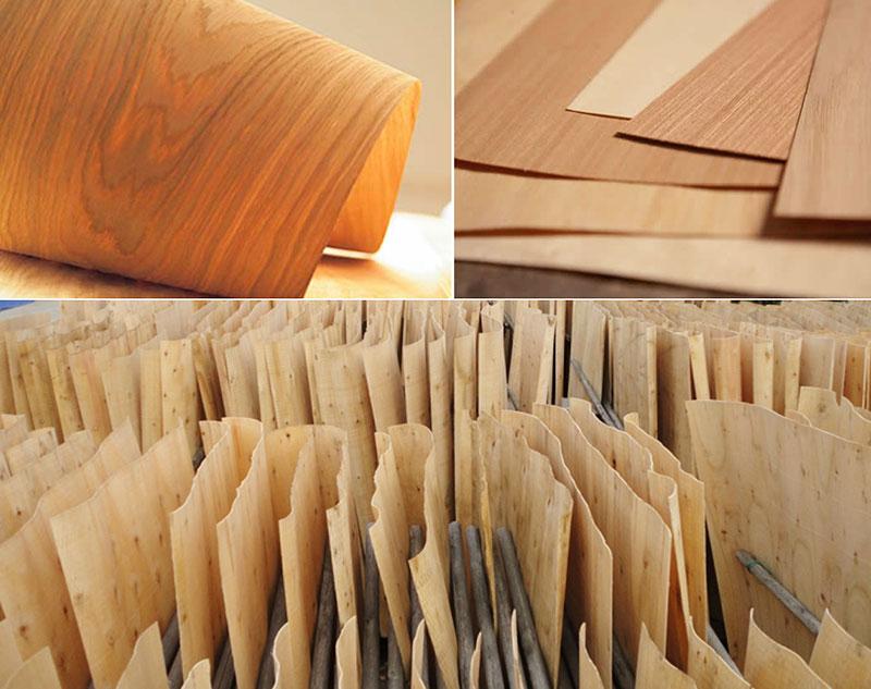 Bề mặt gỗ công nghiệp Veneer