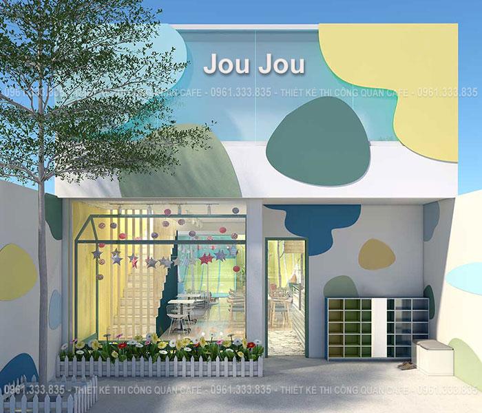 Thiết kế quán cafe JouJou
