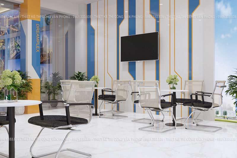 Thiết kế không gian giao dịch văn phòng bất động sản