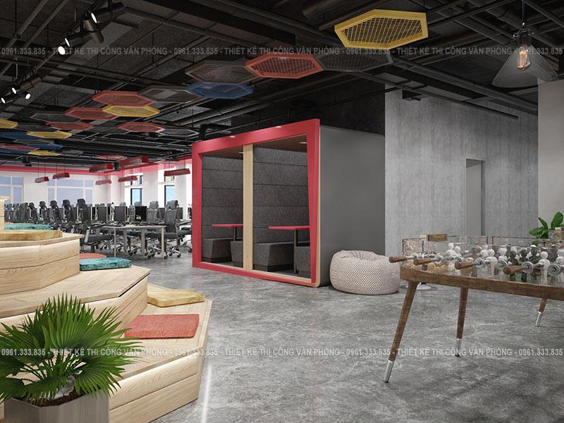 Thiết kế không gian làm việc hiện đại