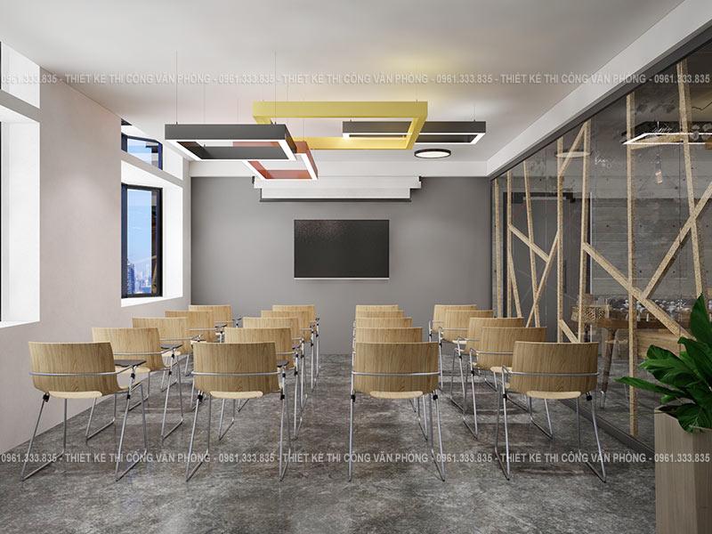 Thiết kế phòng họp văn phòng hiện đại