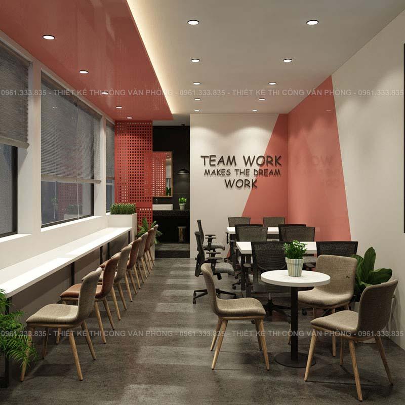 Thiết kế không gian làm việc chung co-working